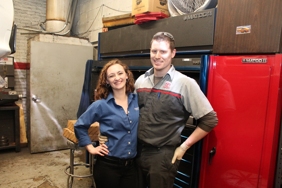 Couple Finds Path to Success with Automotive Program
