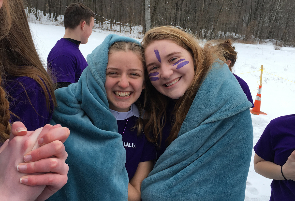 New Visions Students Raise Money to Fight Alzheimer's
