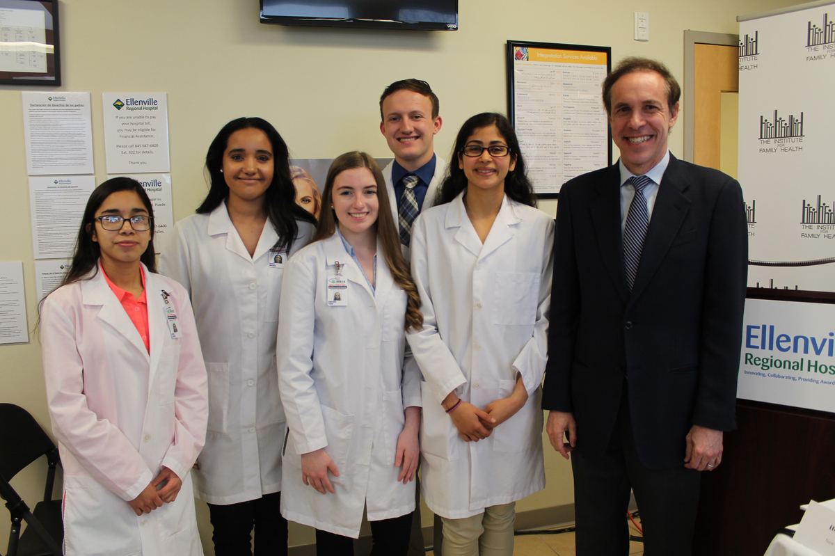 Ulster BOCES Students Attend Event Featuring State Health Commissioner