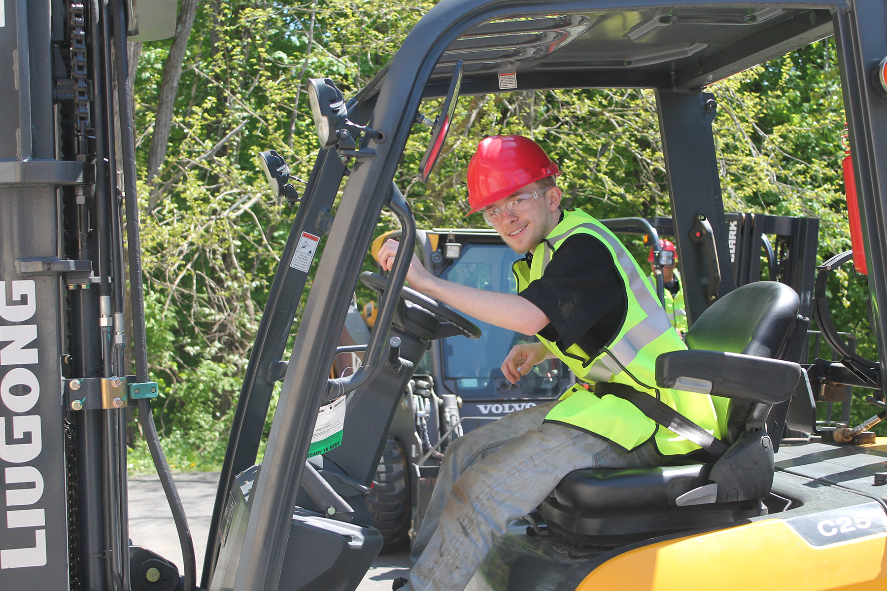 Ulster BOCES MOP Students Become Certified Forklift Operators