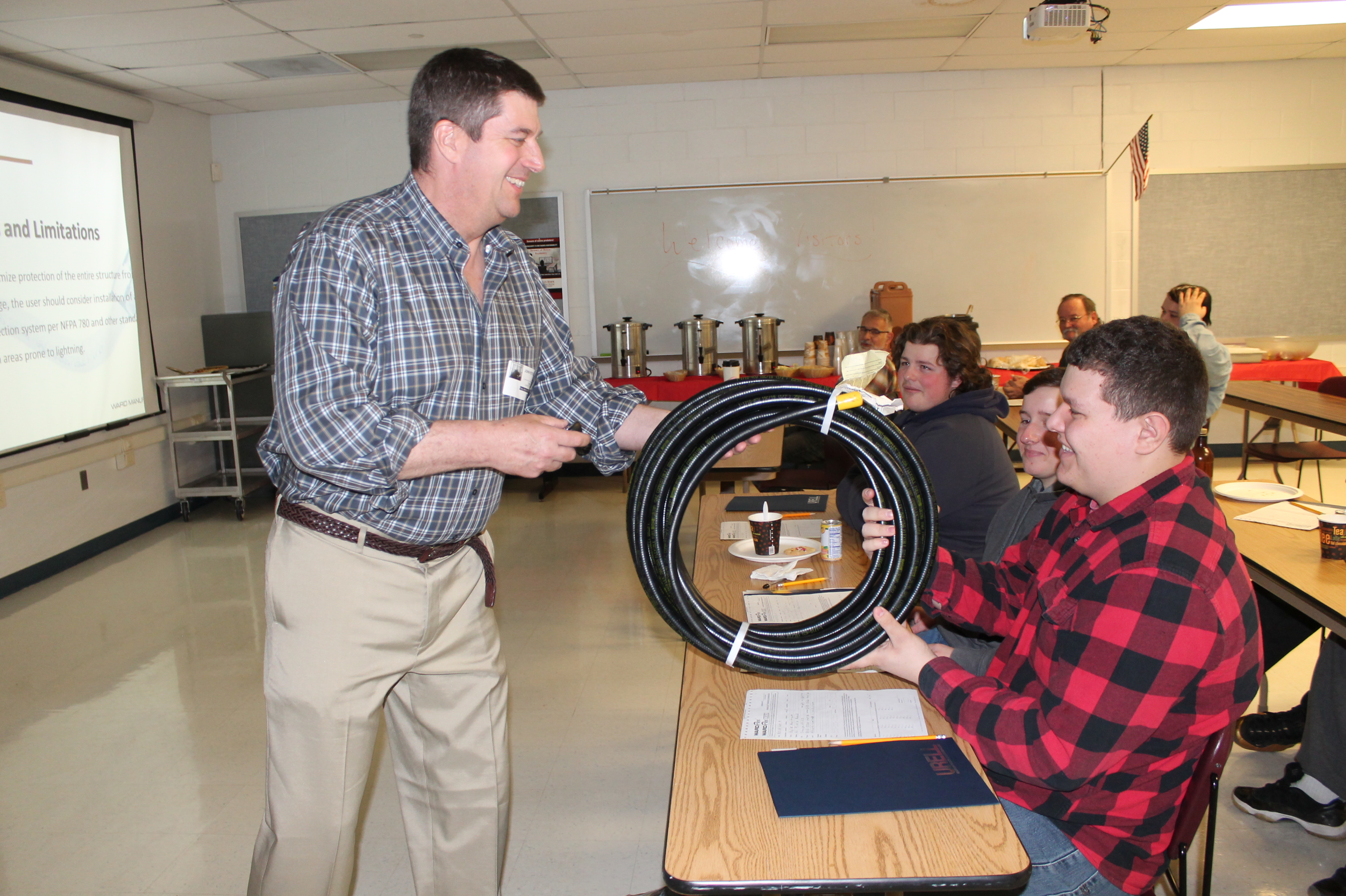 HVAC Students Attend Valuable Training Seminar