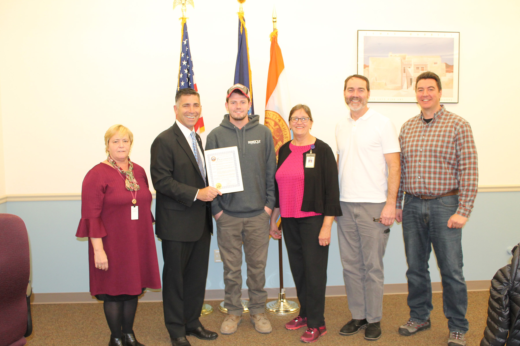 Ulster BOCES Adult Career Education Center Recognized During Apprenticeship Week Proclamation Event