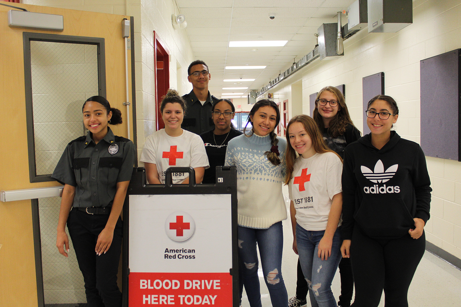 Ulster BOCES Students Continue to Support the Red Cross