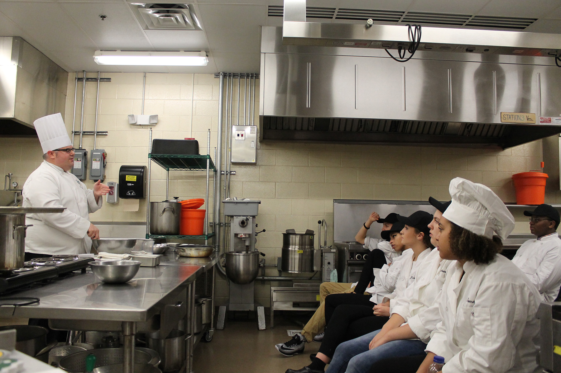 Ulster BOCES Culinary Students Learn About the Prestigious CIA