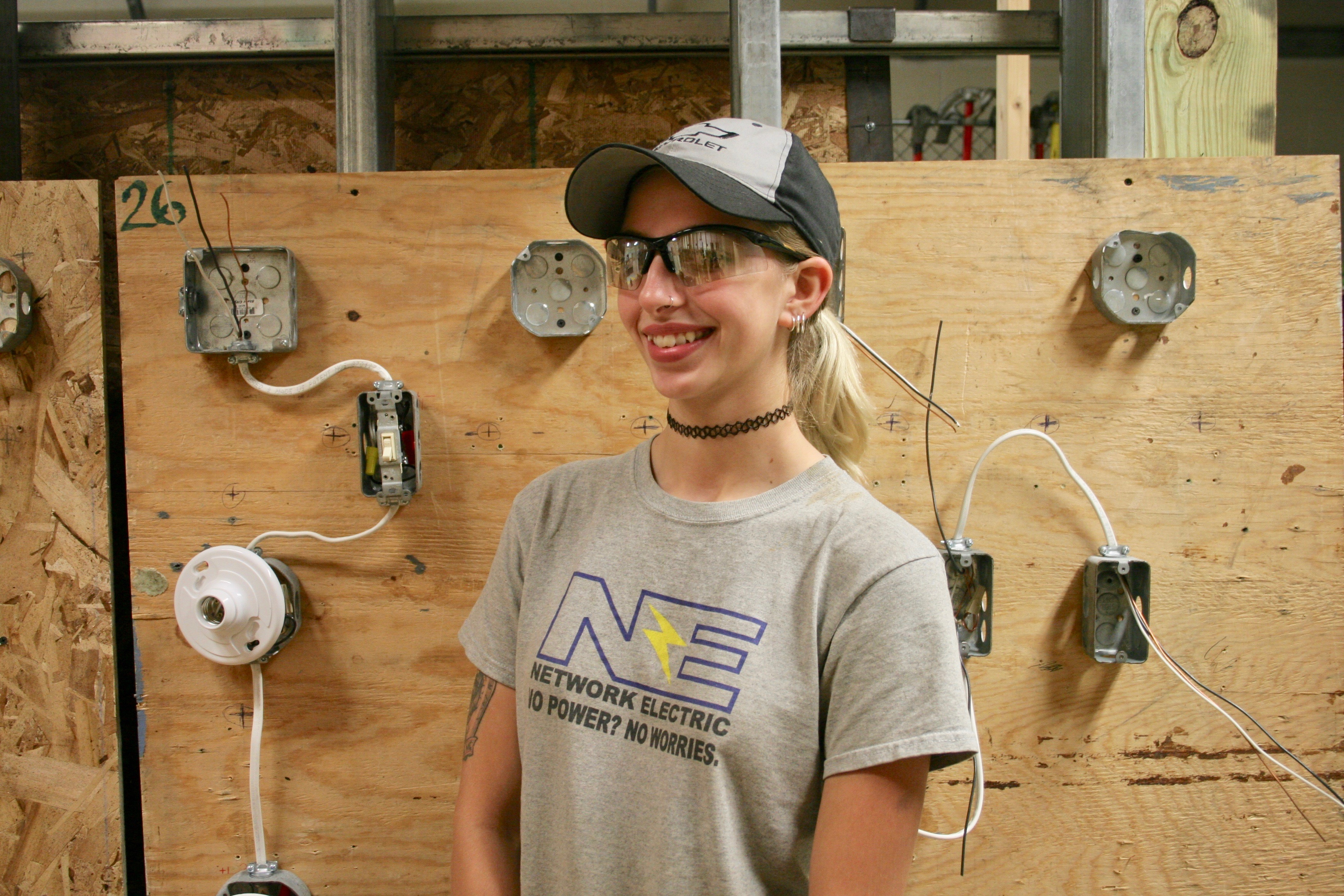 Adult Ed Student Excels in Traditionally Male Dominated Field