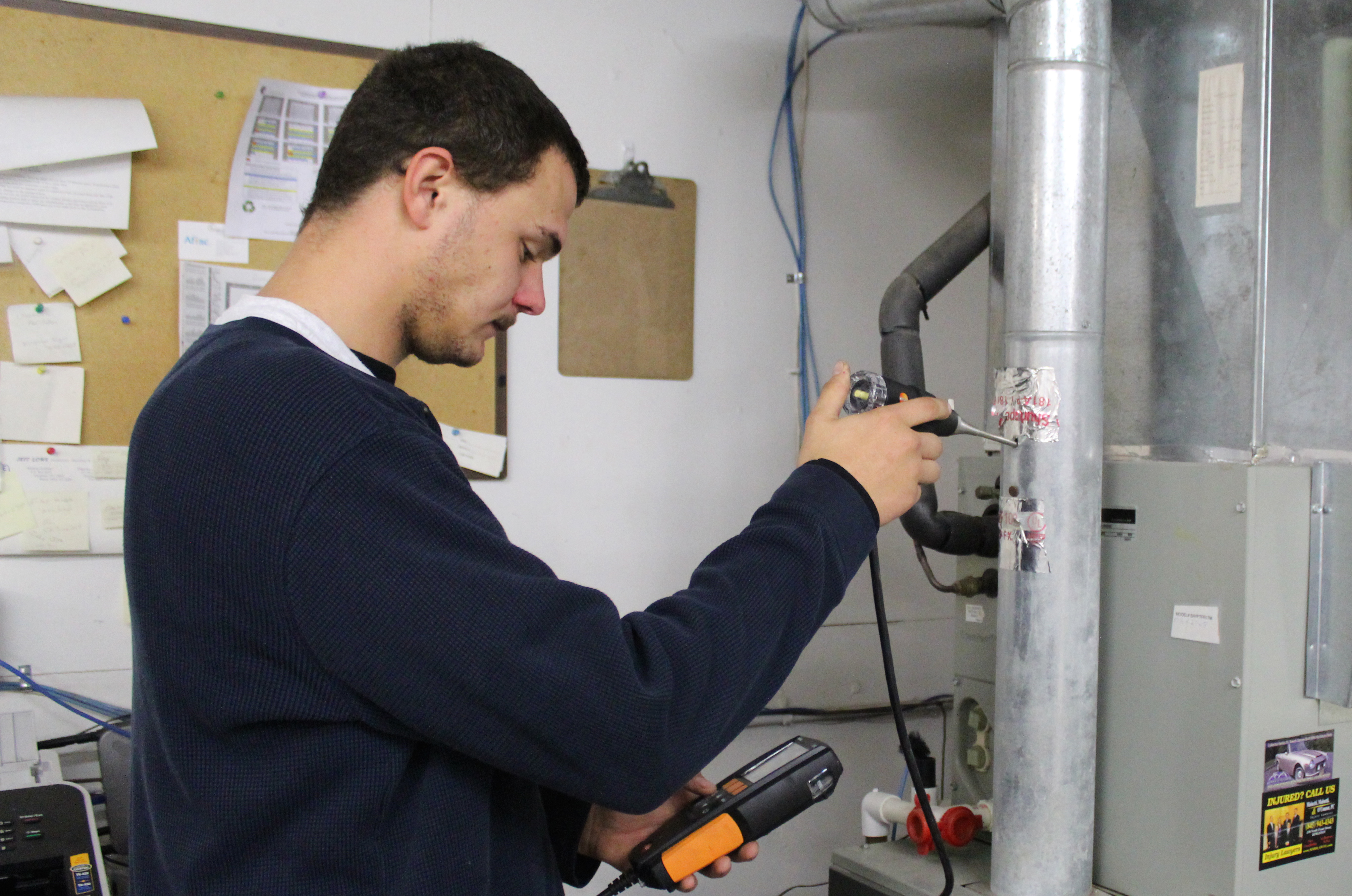 Ulster BOCES Grad Becomes Skilled HVAC technician