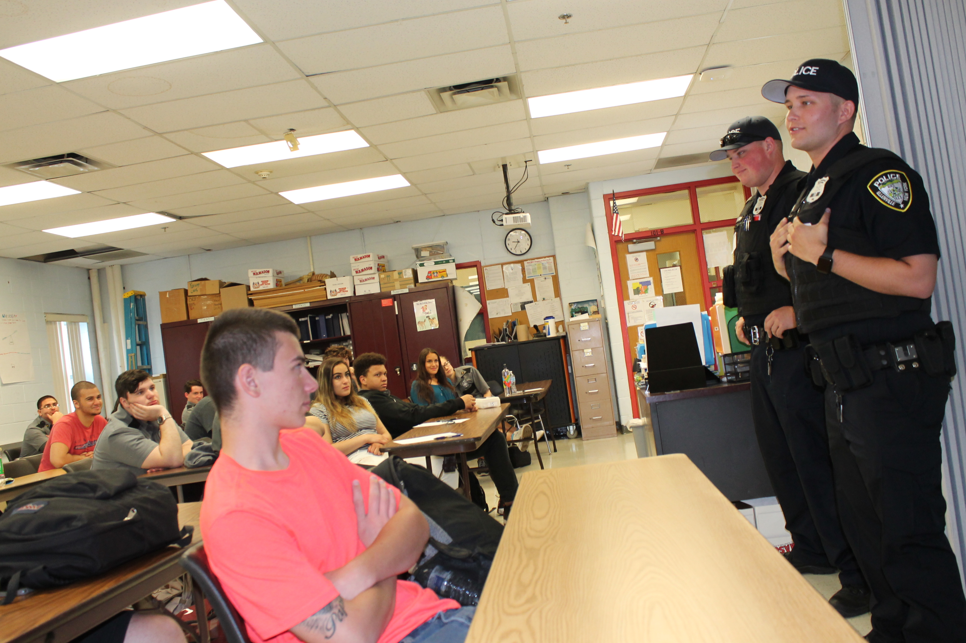 Ulster BOCES Grad Kicks Off Career in Law Enforcement