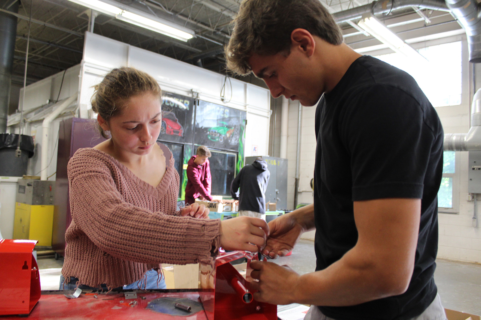 Ulster BOCES Auto Program Receives Donation