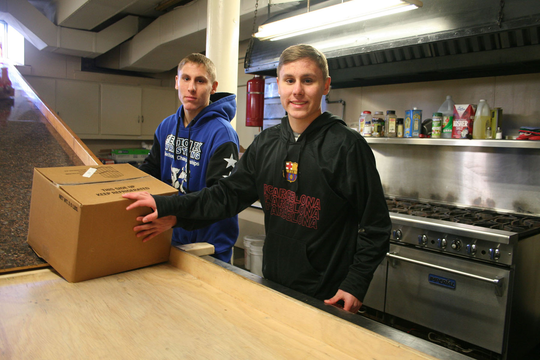 Ulster BOCES SkillsUSA Students Practice Community Service