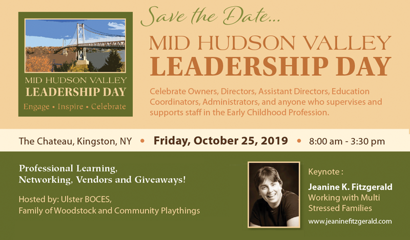 Join us on October 25th for the Annual Mid-Hudson Valley Leadership Day